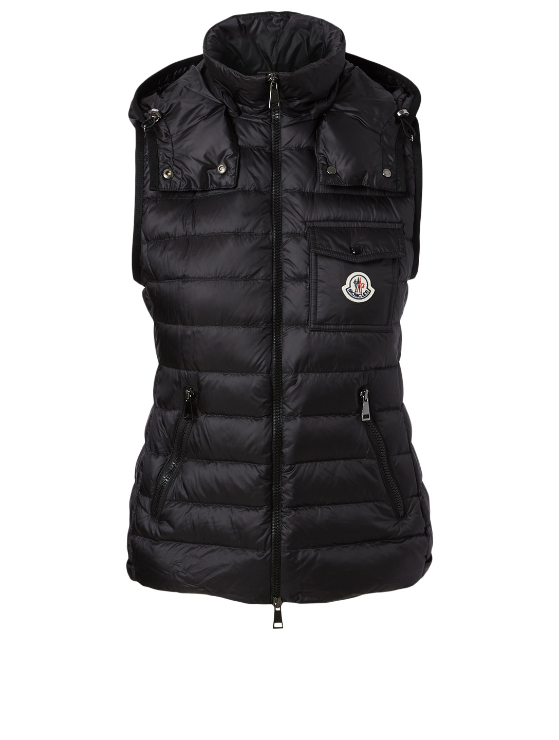 MONCLER Glycine Quilted Vest Women's Black