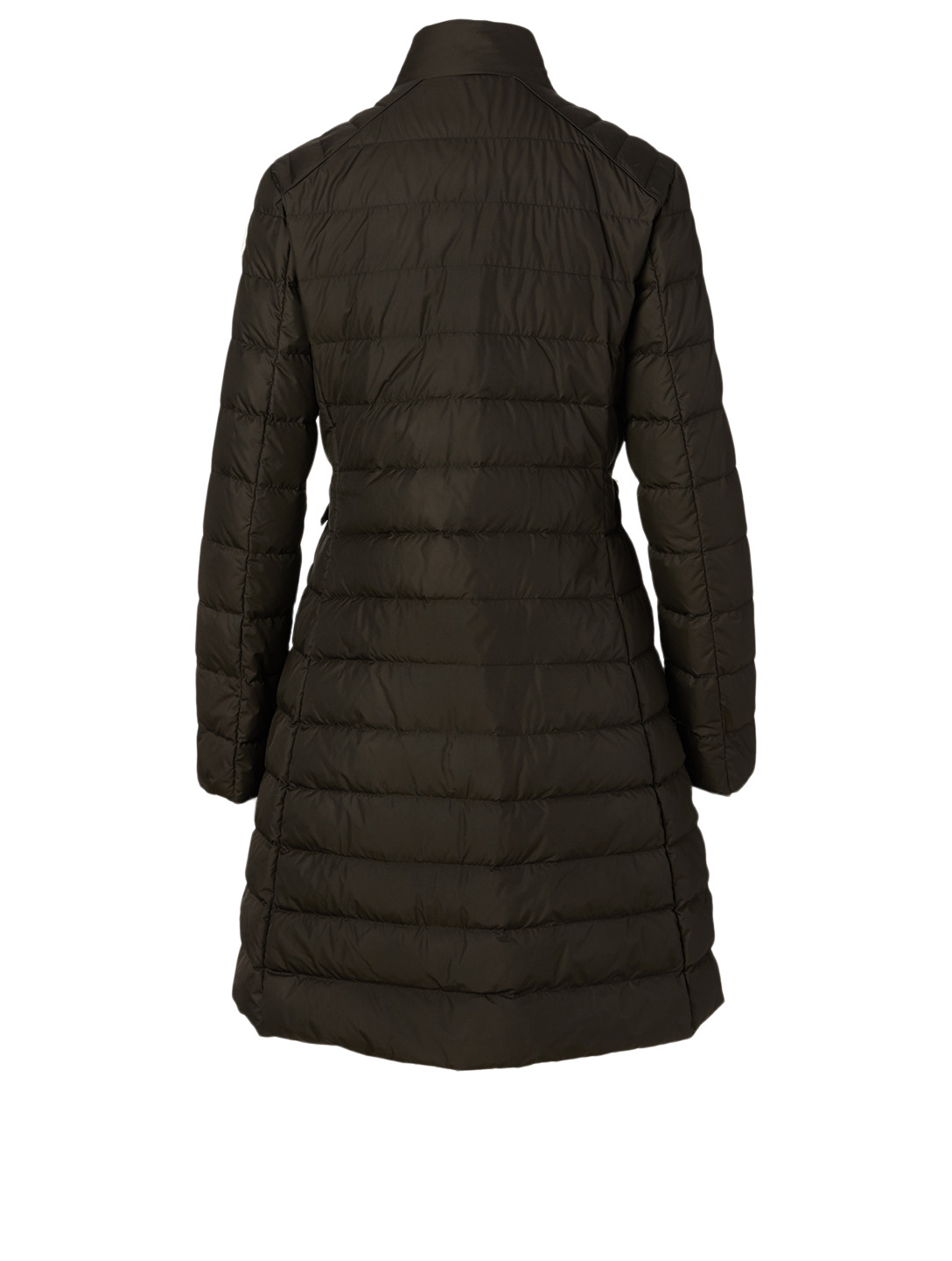 MONCLER Capucino Long Coat Women's Black