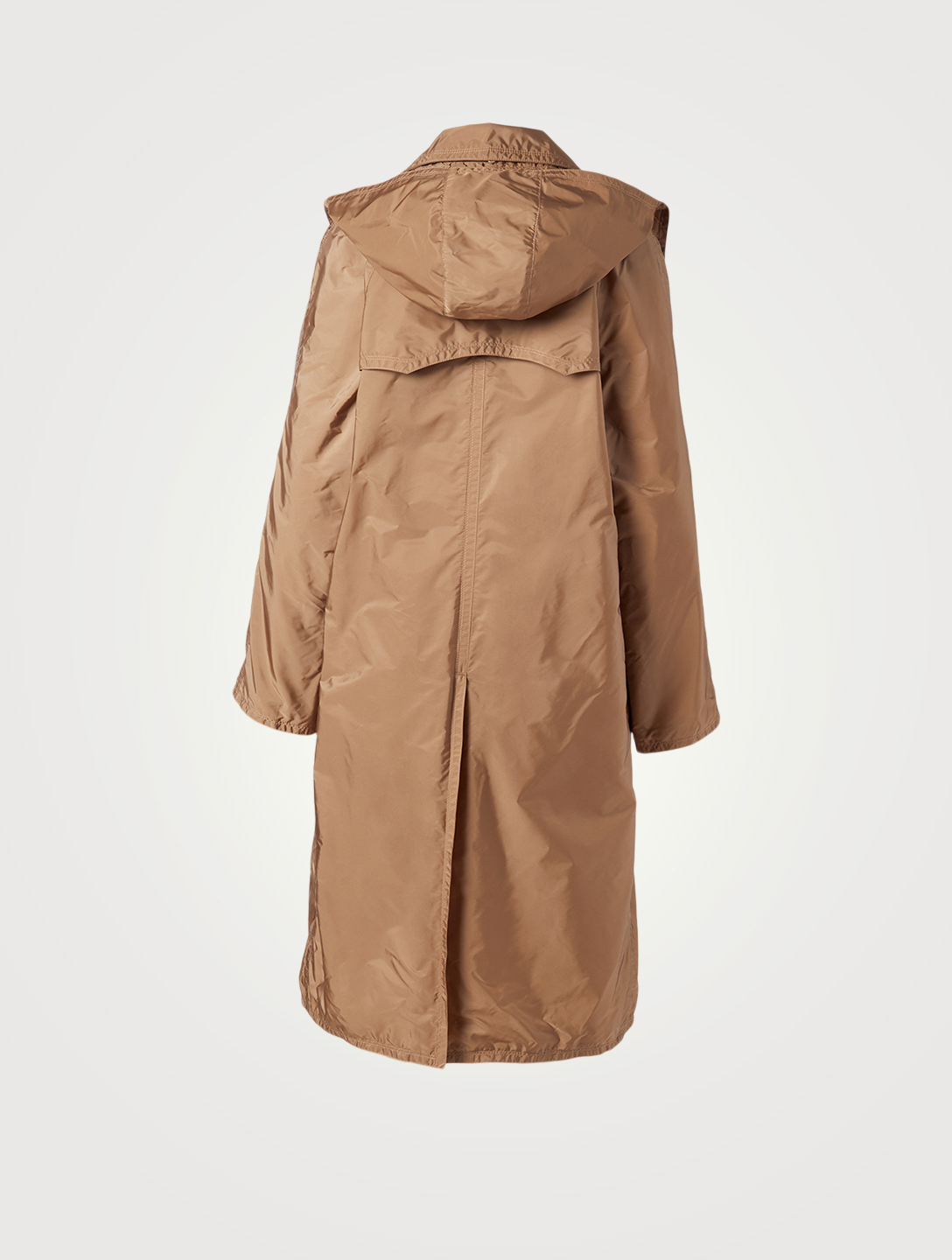 MONCLER Vanille Long Coat Women's Beige
