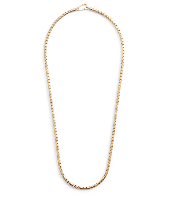 MARCO DAL MASO Ulysses 18K Yellow Gold Plated Necklace Men's Metallic