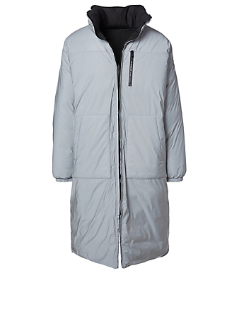 GIVENCHY Reflective Reversible Parka Men's Grey
