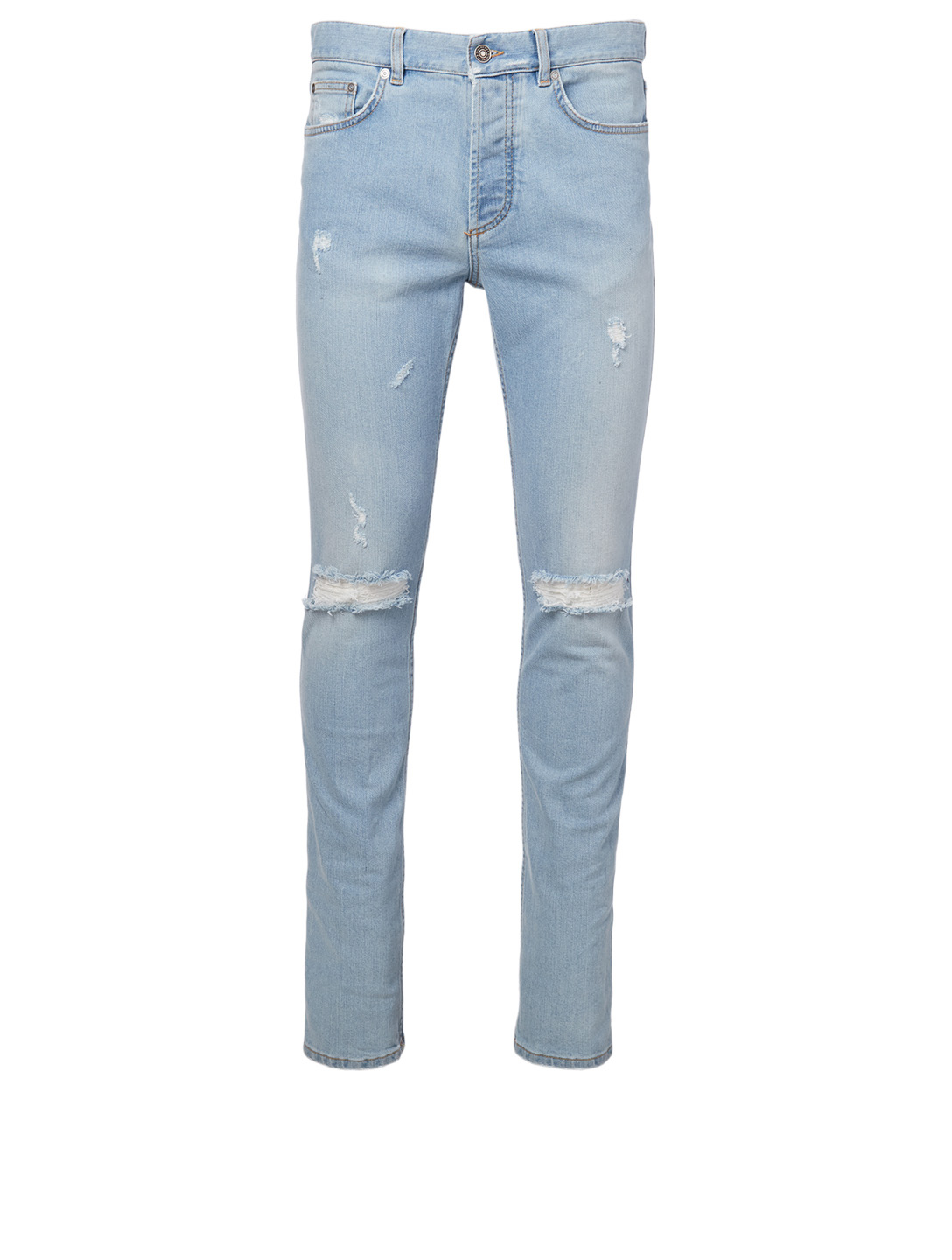GIVENCHY Destroyed Slim Jeans Men's Blue