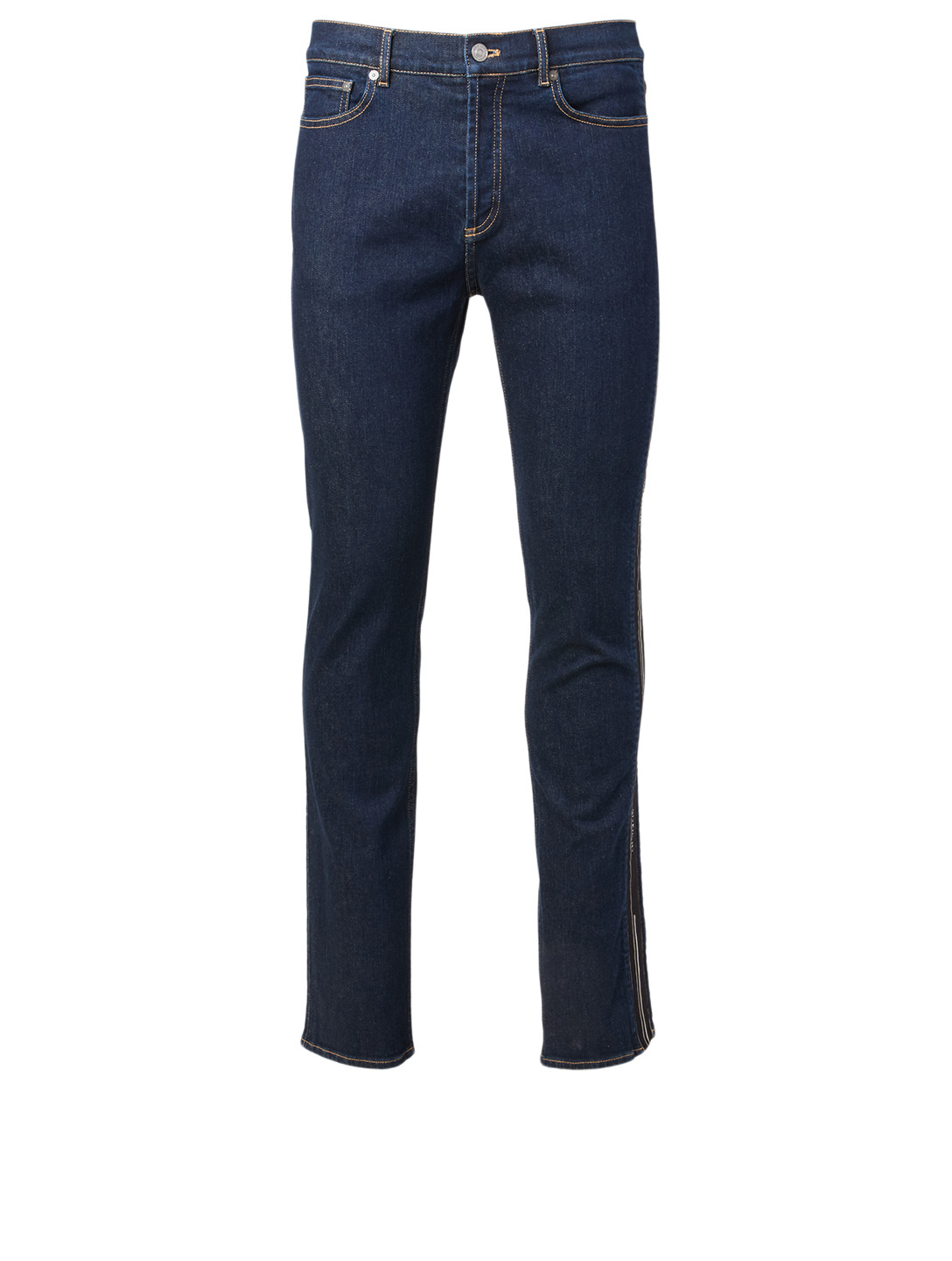 GIVENCHY Slim-Fit Jeans With Logo Tape Men's Blue