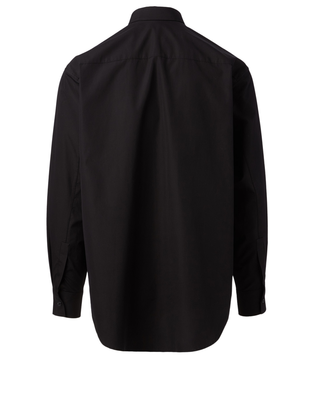 GIVENCHY Cotton Shirt With Logo Men's Black