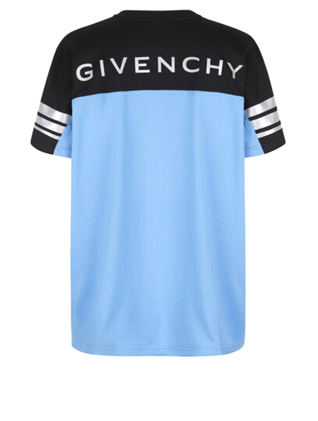 GIVENCHY Cotton Reflective T-Shirt Men's Black