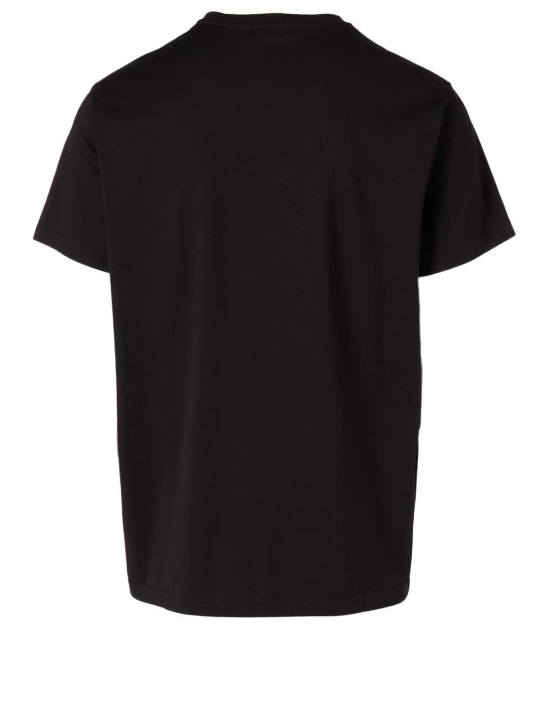 GIVENCHY Cotton Logo T-Shirt In Floral Print Men's Black