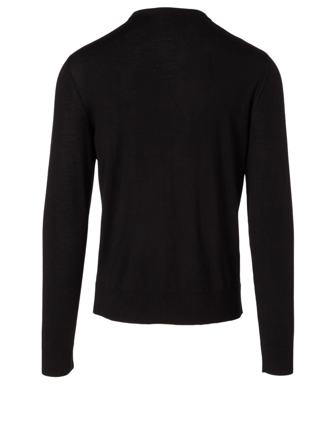 GIVENCHY Wool Logo Sweater With Address Men's Black