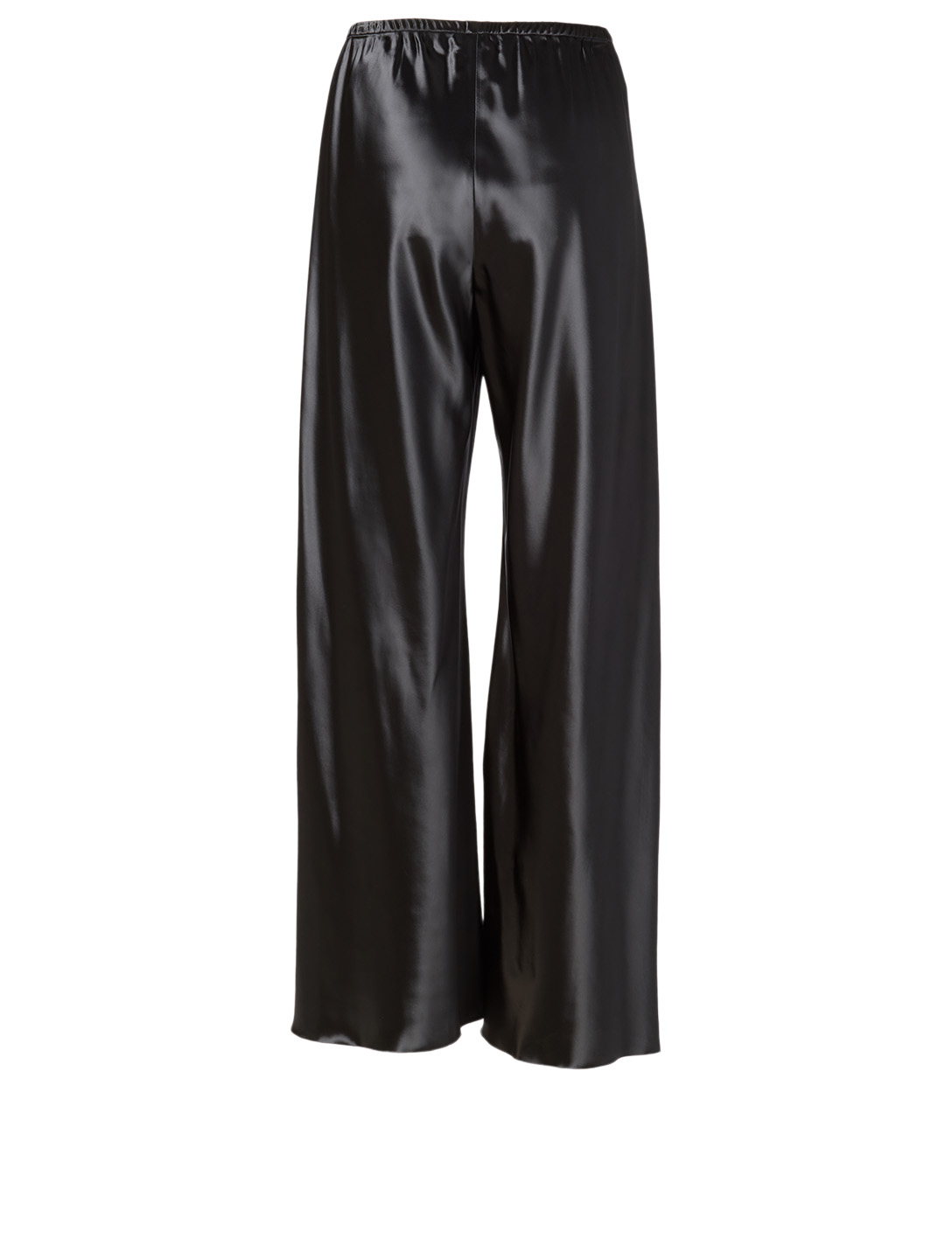THE ROW Gala Shiny Pants Women's Blue