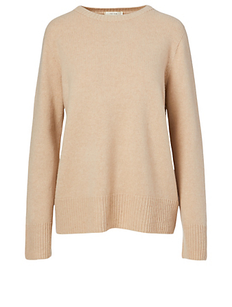 THE ROW Sibel Wool And Cashmere Sweater Women's Brown