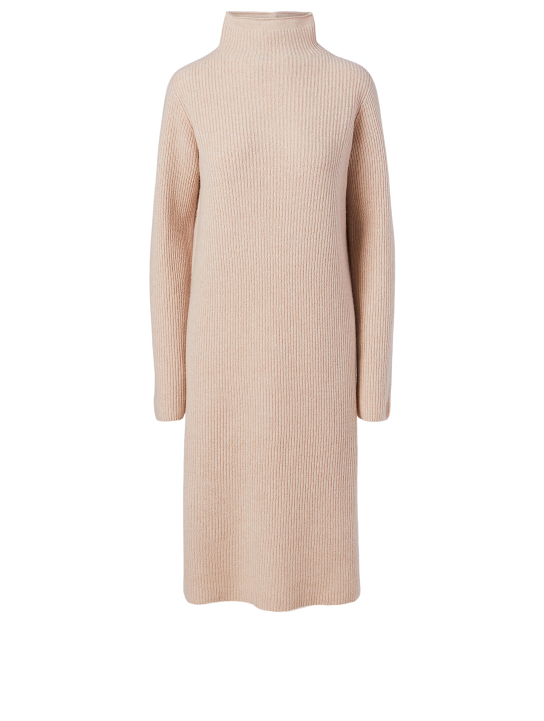 THE ROW Moa Wool And Cashmere Midi Dress Women's Brown
