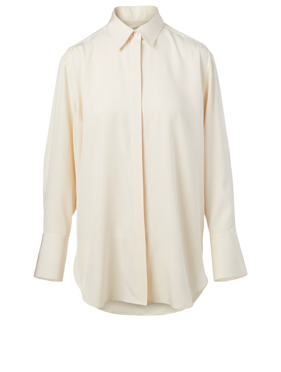 THE ROW Cody Silk Shirt Women's White