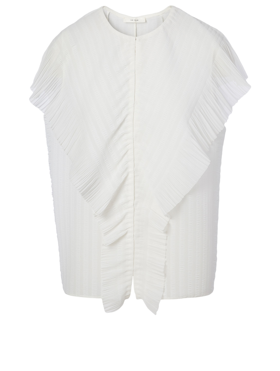 THE ROW Wiola Sleeveless Blouse Women's White