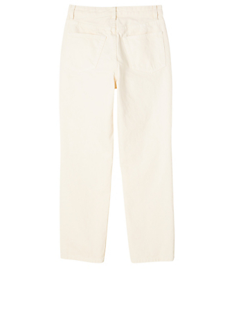 THE ROW Ash Cotton Jeans Women's White