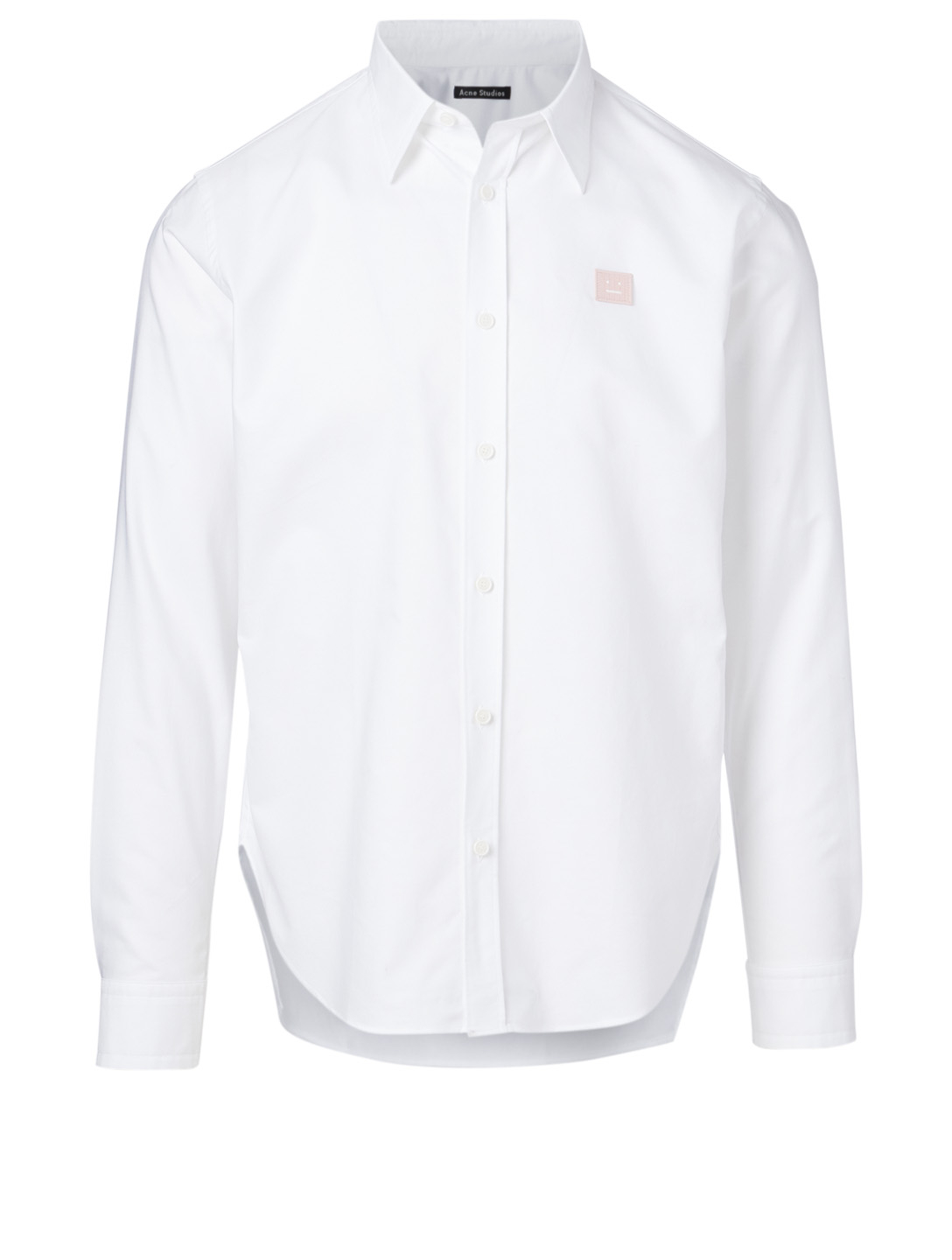 ACNE STUDIOS Seville Face Cotton Shirt Men's White