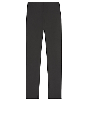 THEORY Scuba Skinny Leggings Women's Black