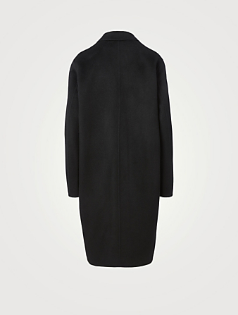 ACNE STUDIOS Wool Midi Coat Women's Black