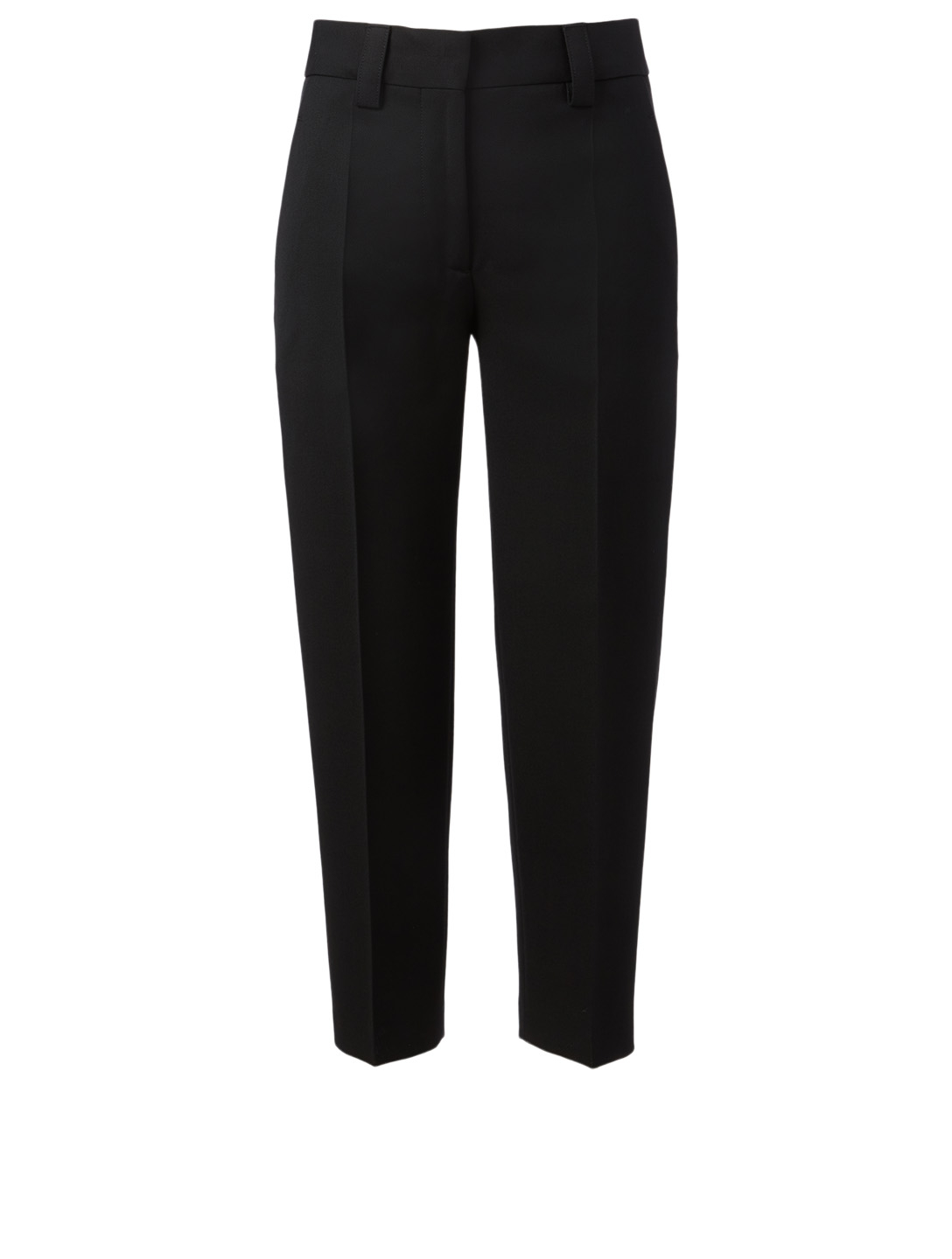 ACNE STUDIOS Wool-Blend Tapered Pants Women's Black