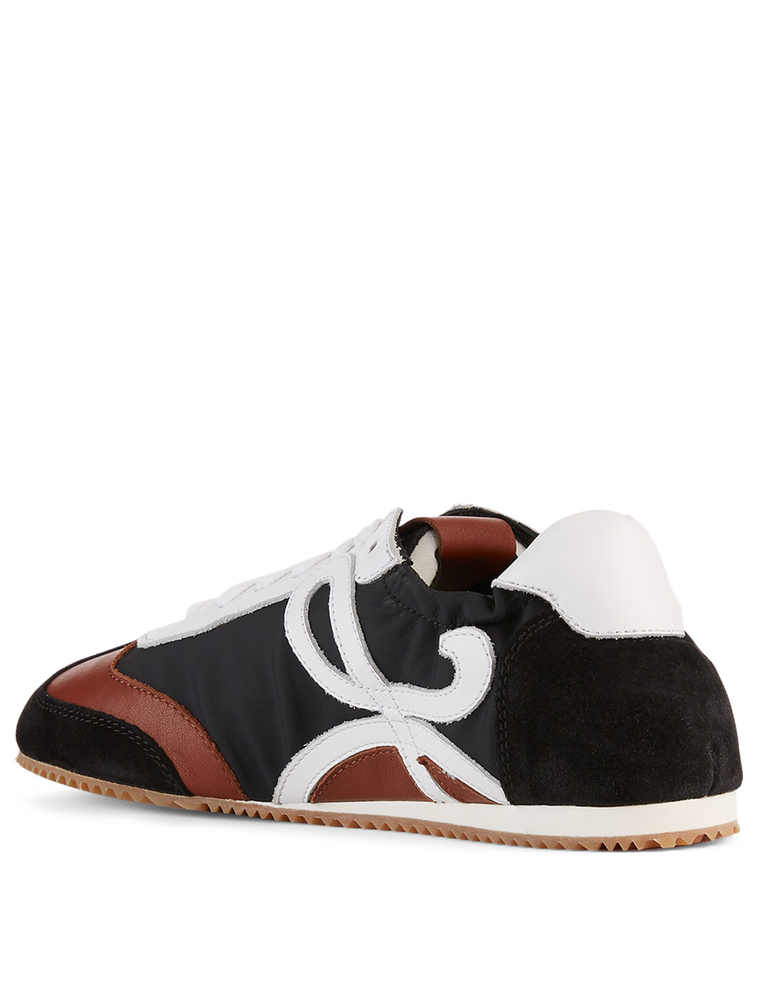 LOEWE Leather And Nylon Ballet Runner Sneakers Women's Black