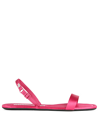 ALEXANDER WANG Ryder Folding Satin Sandals Women's Pink
