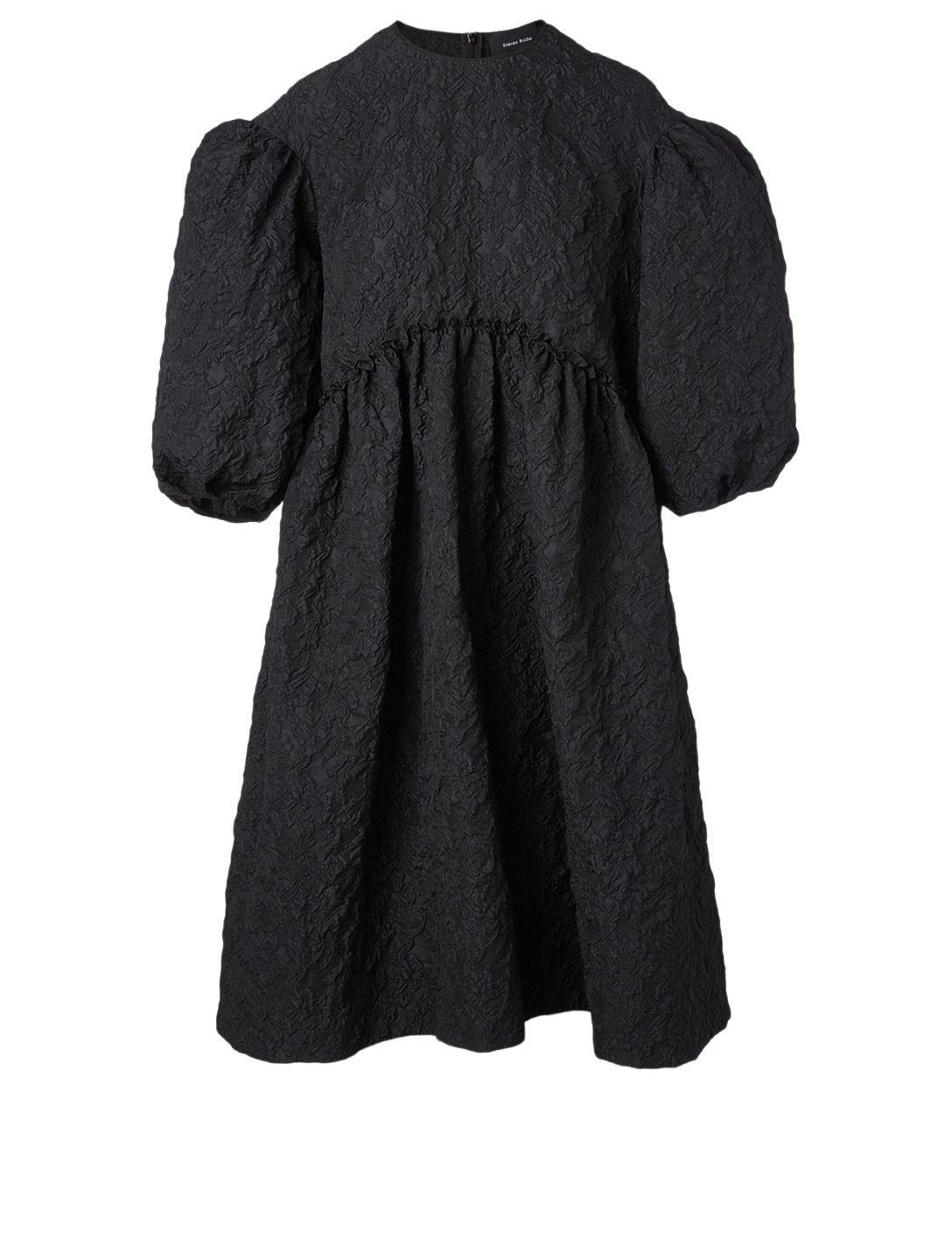 SIMONE ROCHA Short-Sleeve Smock Dress Women's Black