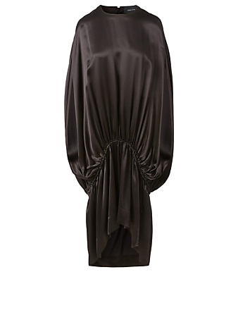 SIMONE ROCHA Silk Sleeveless Dress Women's Black