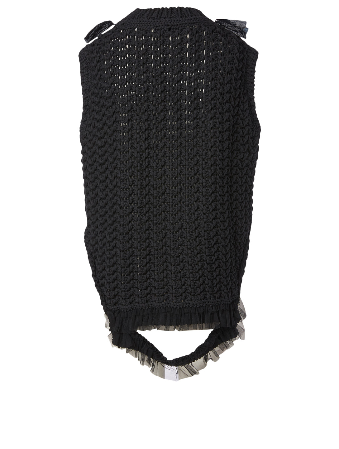 SIMONE ROCHA Bite Back Sleeveless Top Women's Black