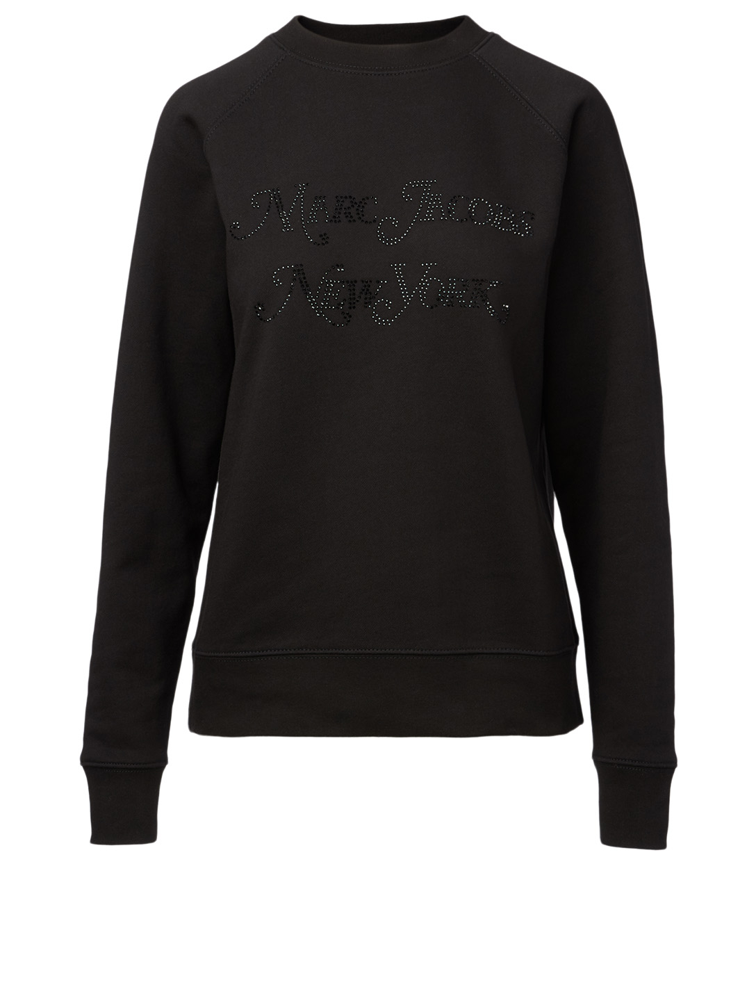 THE MARC JACOBS New York Magazine Logo Sweatshirt Women's Black