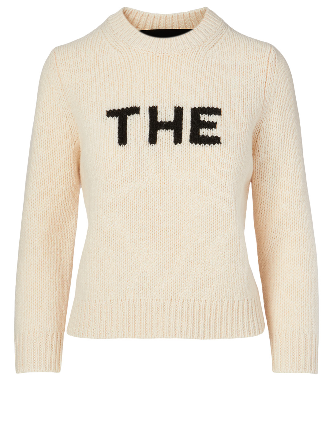 THE MARC JACOBS The Wool-Blend Sweater Women's White