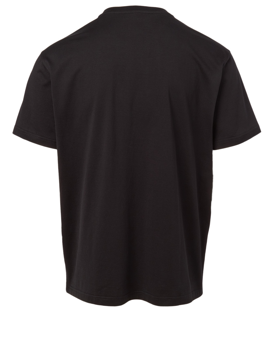 GIVENCHY Cotton Embossed Logo T-Shirt Men's Black