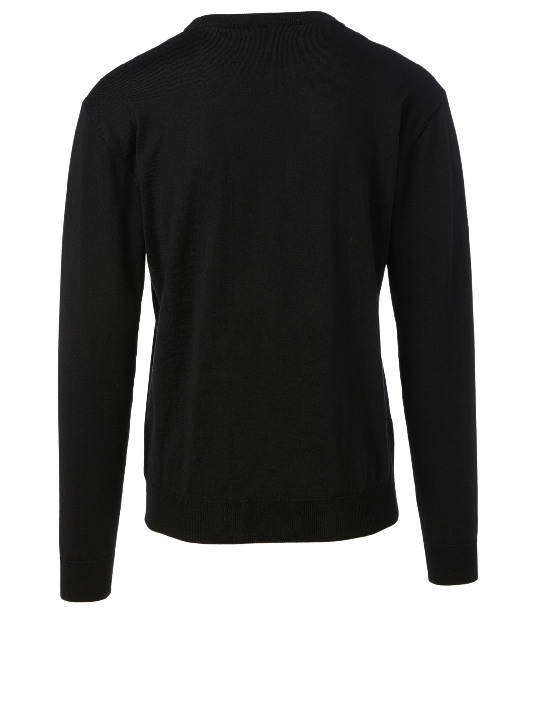 GIVENCHY Wool Sweatshirt With 3D Logo Men's Black