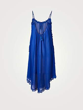 RAMY BROOK Rio Chiffon Maxi Dress Women's Blue