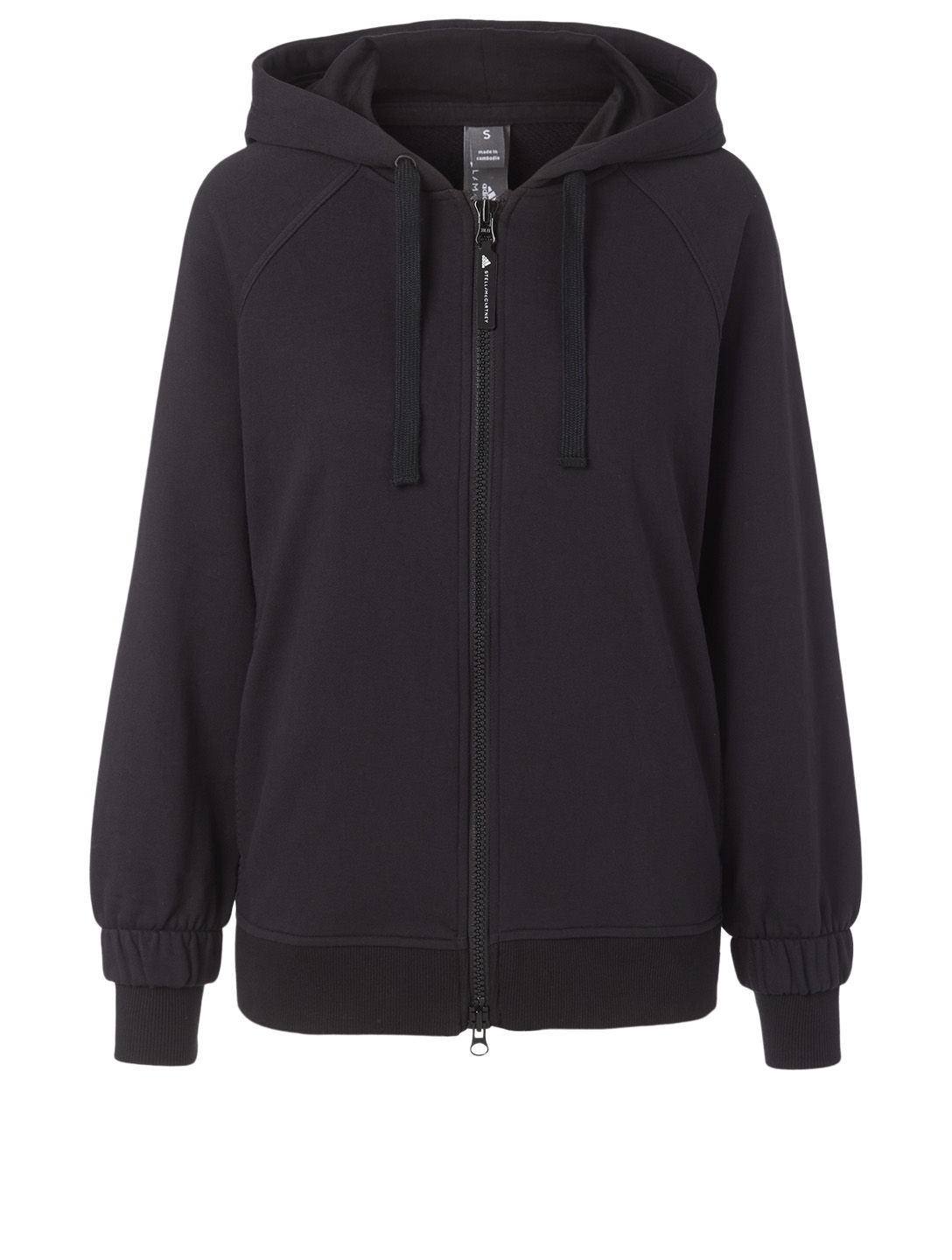 ADIDAS BY STELLA MCCARTNEY Essentials Zip-Up Hoodie Women's Black