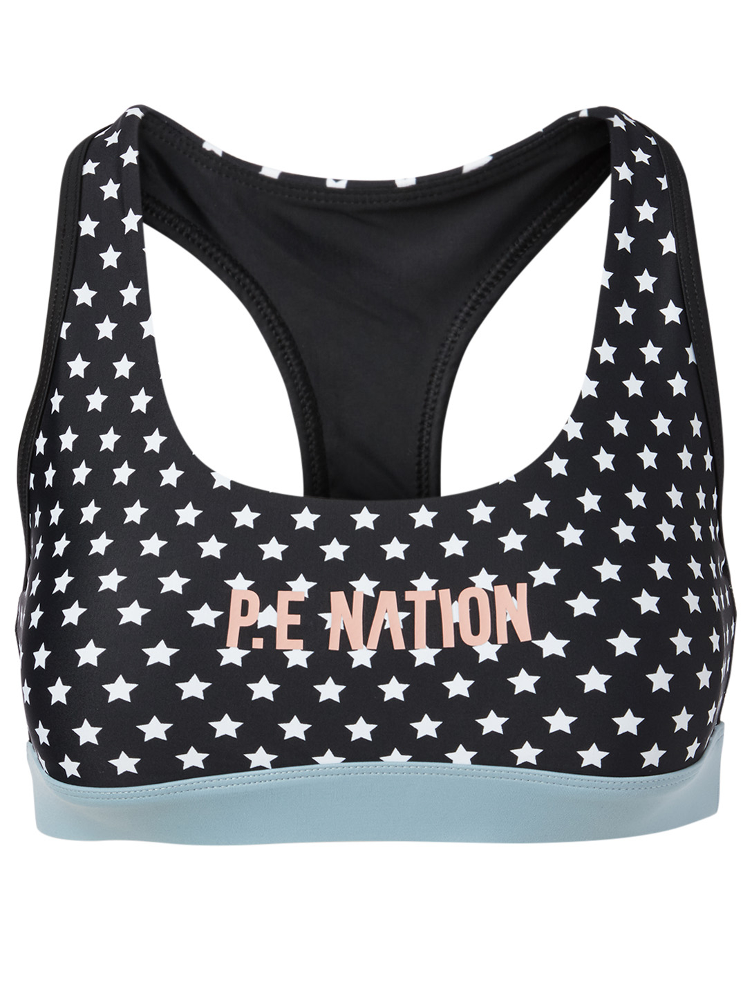 PE NATION Dominion Sports Bra Women's Black