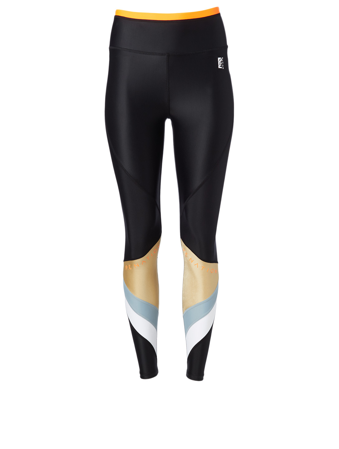 PE NATION Ultimate High-Waisted Leggings Women's Black