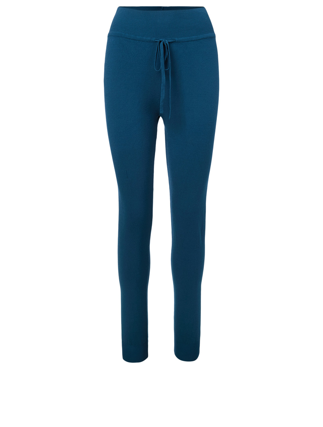 LIVE THE PROCESS Knit High-Waisted Pants Women's Blue