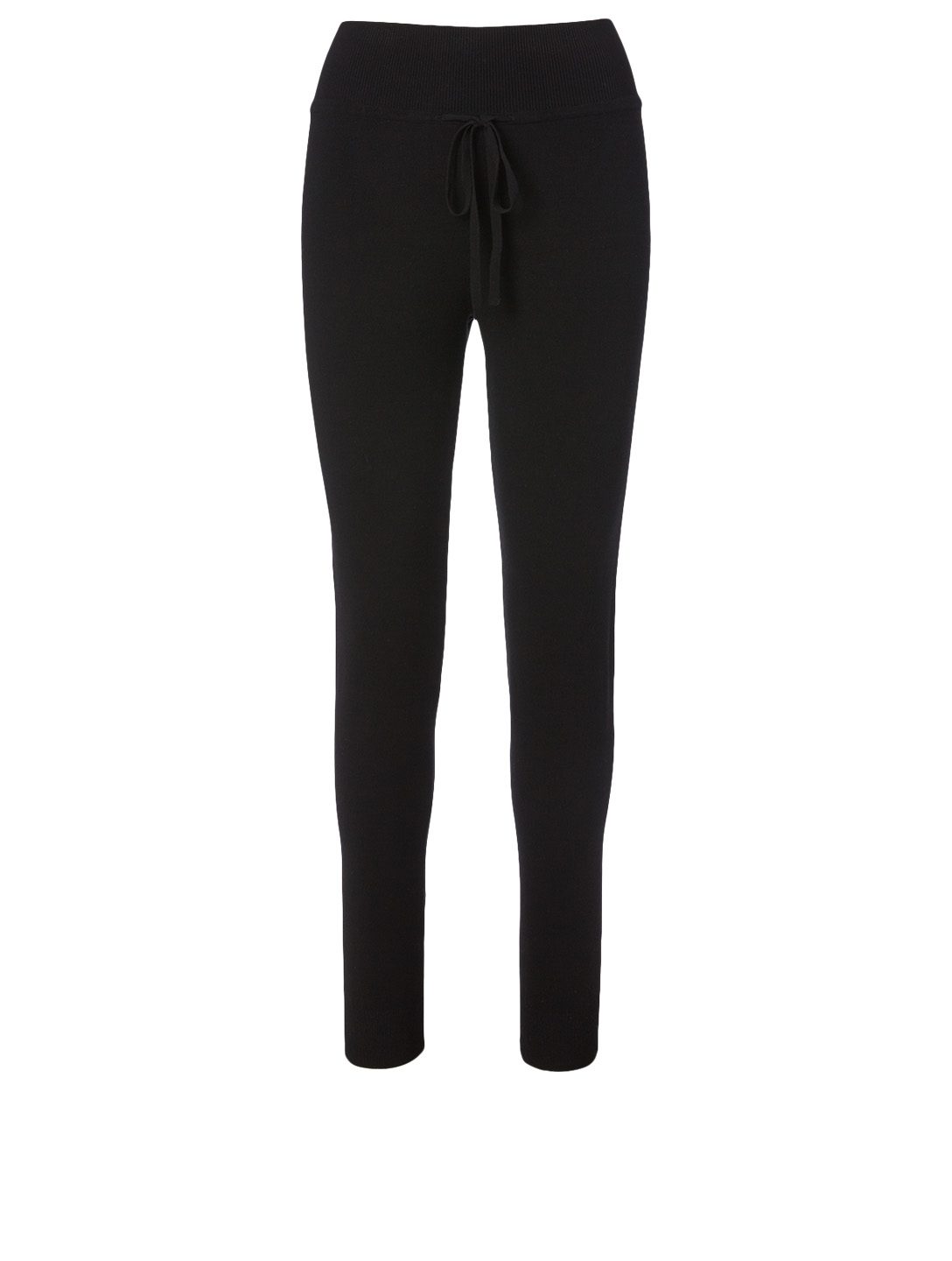 LIVE THE PROCESS Knit High Waisted Pants Women's Black