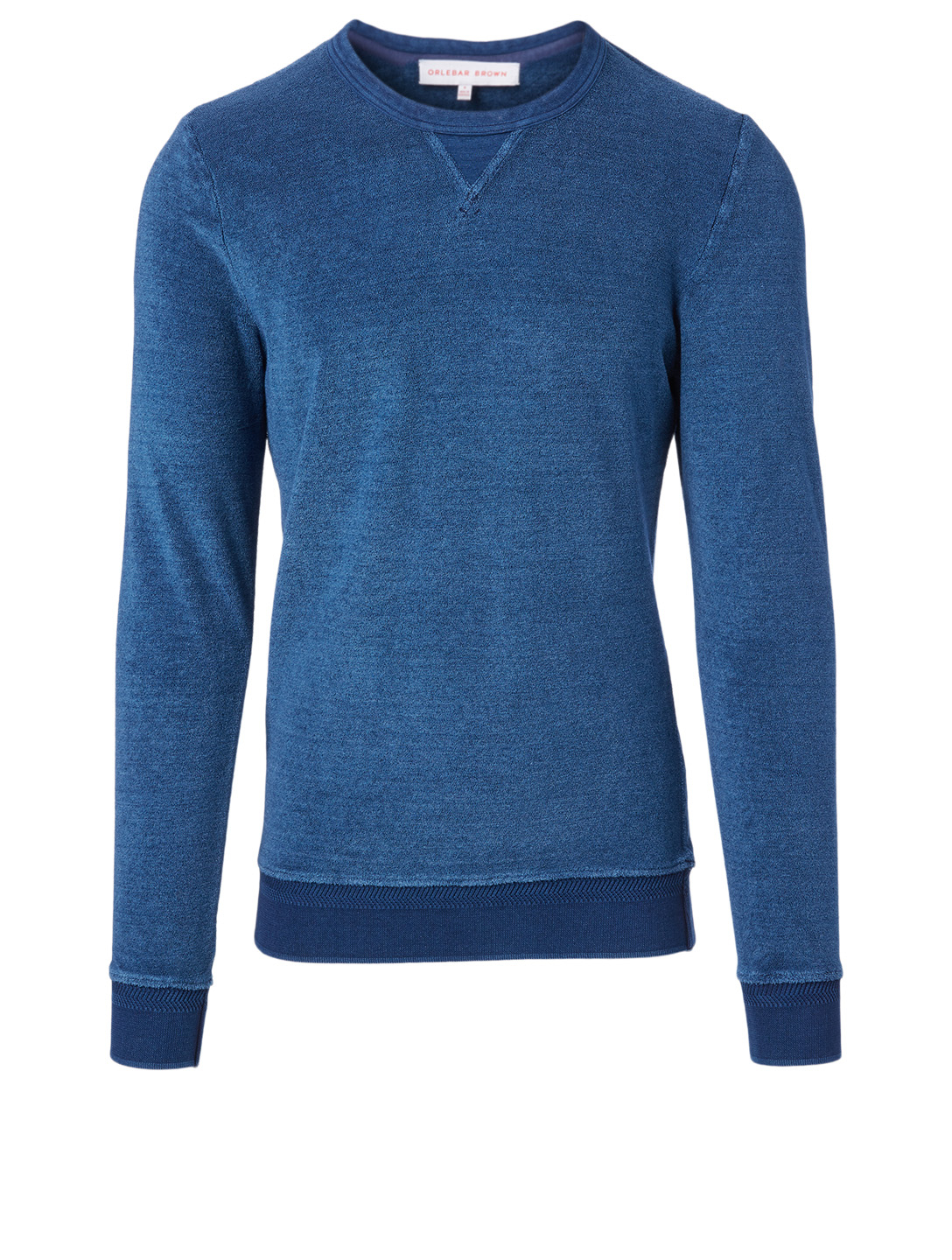 ORLEBAR BROWN Pierce Towel Sweatshirt Men's Blue