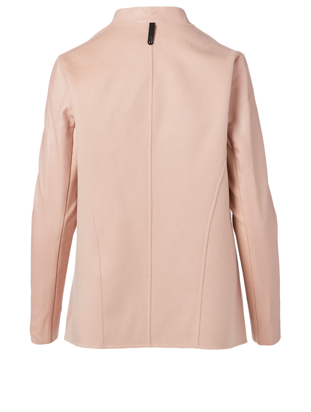 MACKAGE Valla Wool And Leather Coat Women's Pink