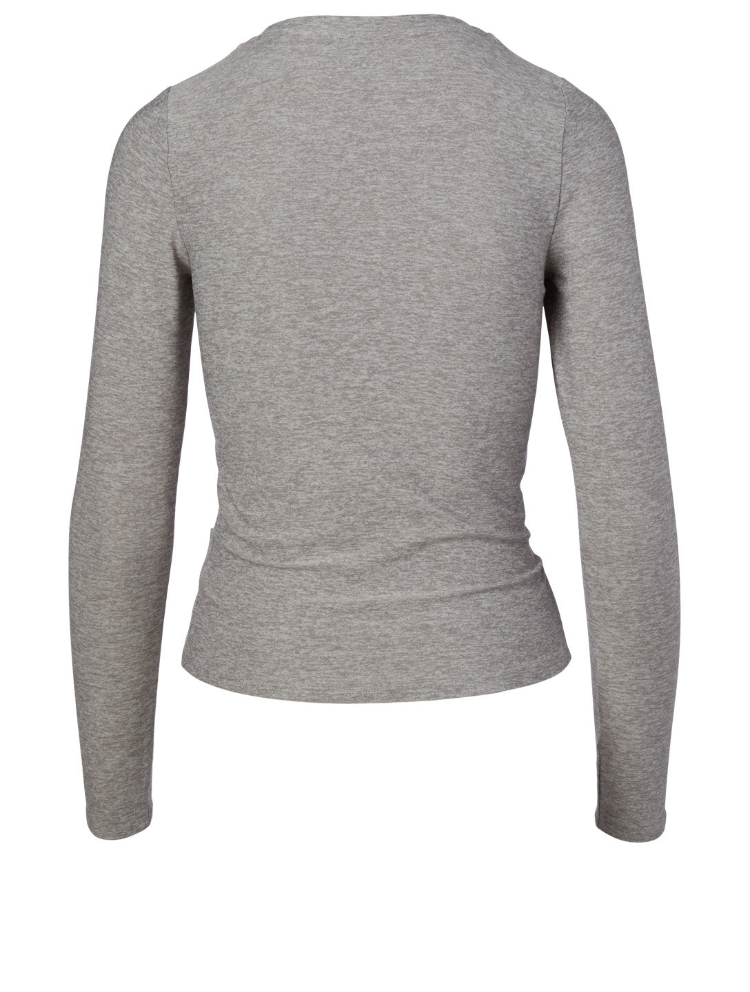 BEYOND YOGA Under Over Lightweight Long Sleeve Top Women's Grey