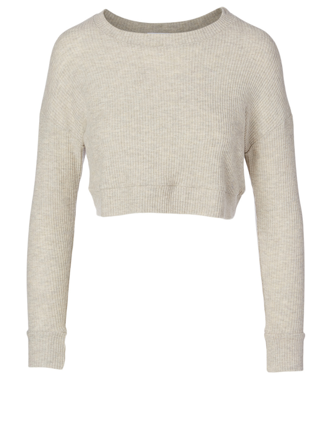 BEYOND YOGA In Line Super Cropped Pullover Sweater Women's Neutral