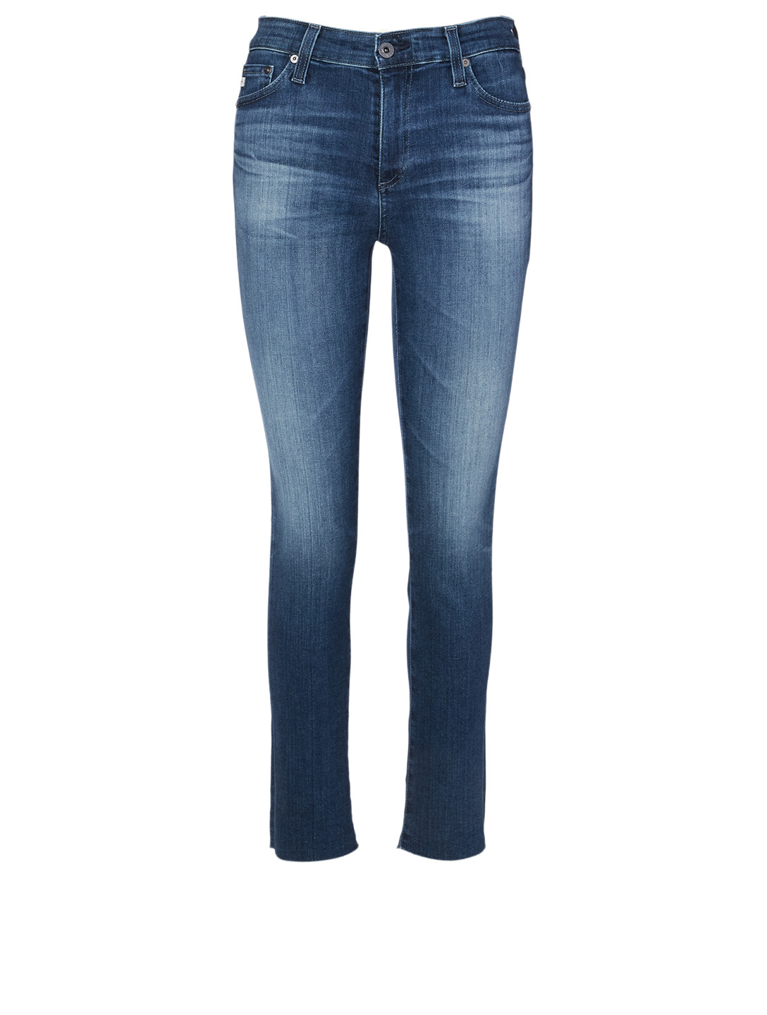 AG Mari High-Waisted Slim Jeans Women's Blue