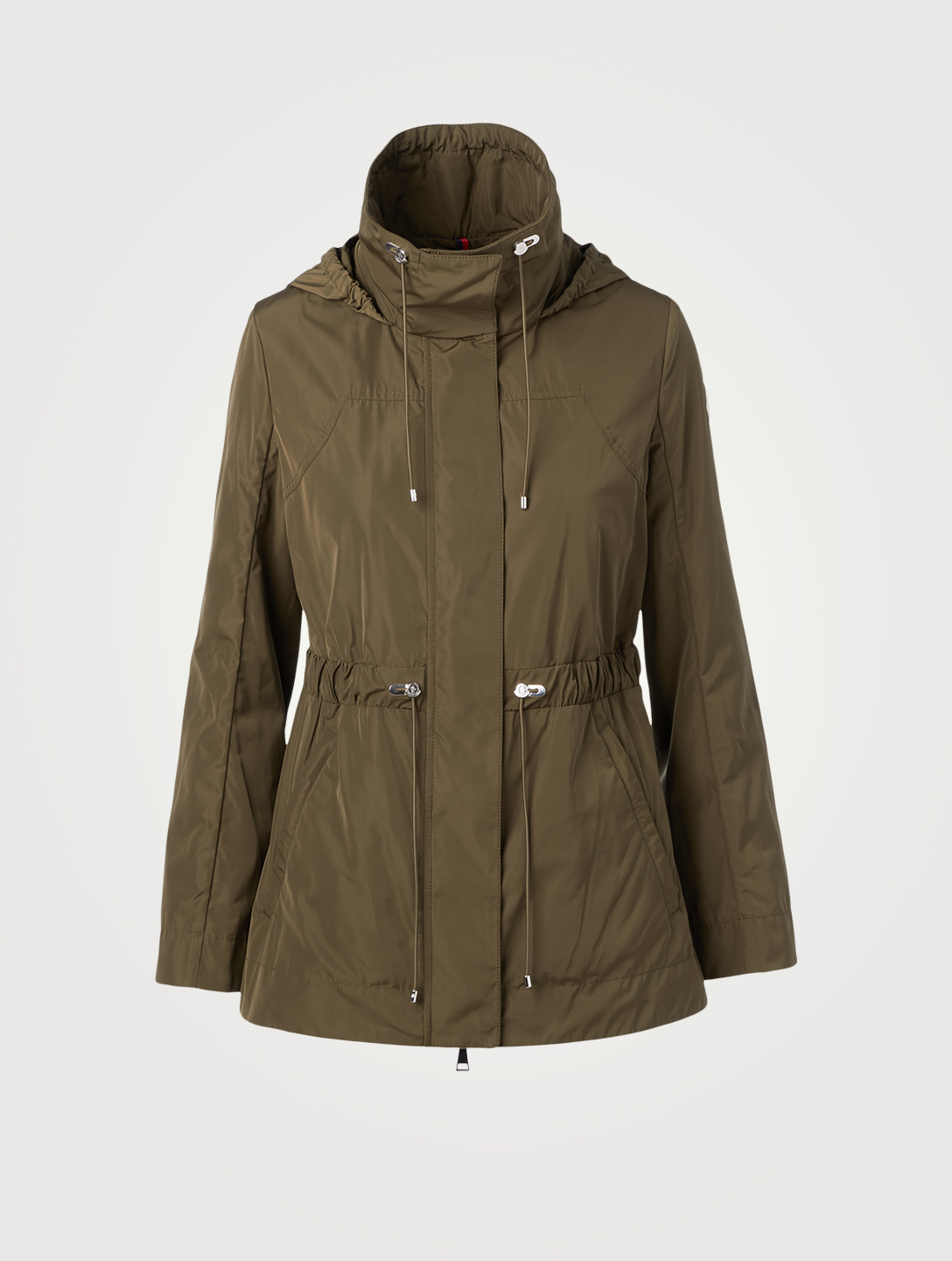 MONCLER Ocre Short Parka Women's Green