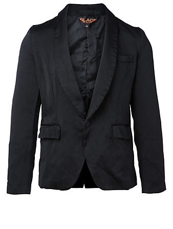 COMME DES GARÇONS BLACK Shawl Collar Jacket Men's Black