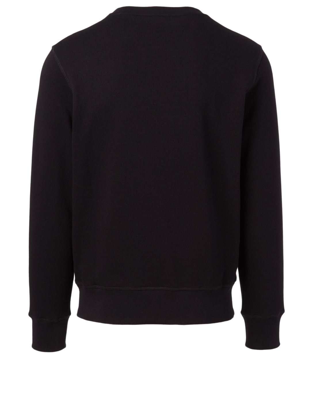 ALEXANDER MCQUEEN Cotton Graphic Sweatshirt Men's Black