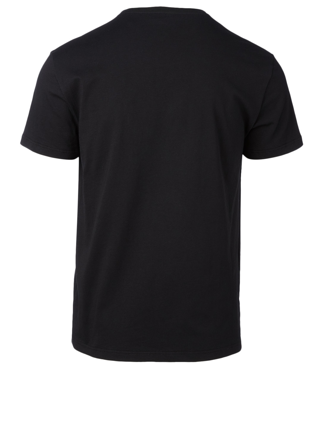 ALEXANDER MCQUEEN Landscape Cotton T-Shirt Men's Black