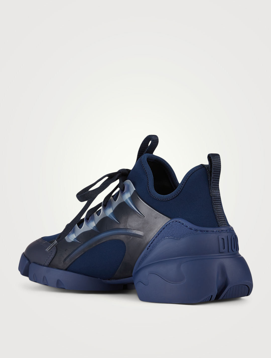 DIOR D-Connect Technical Fabric Sneakers Women's Blue