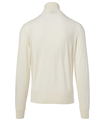 TOM FORD Cashmere And Silk Sweater Men's White