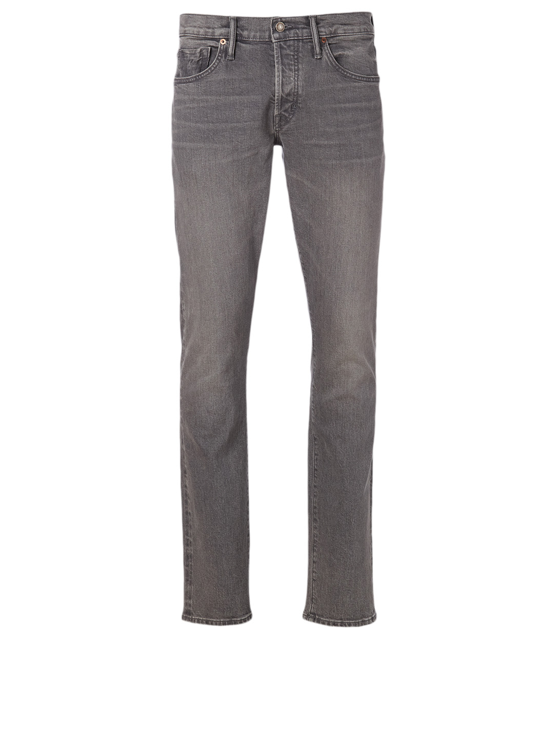 TOM FORD Cotton Stretch Slim Jeans Men's Grey