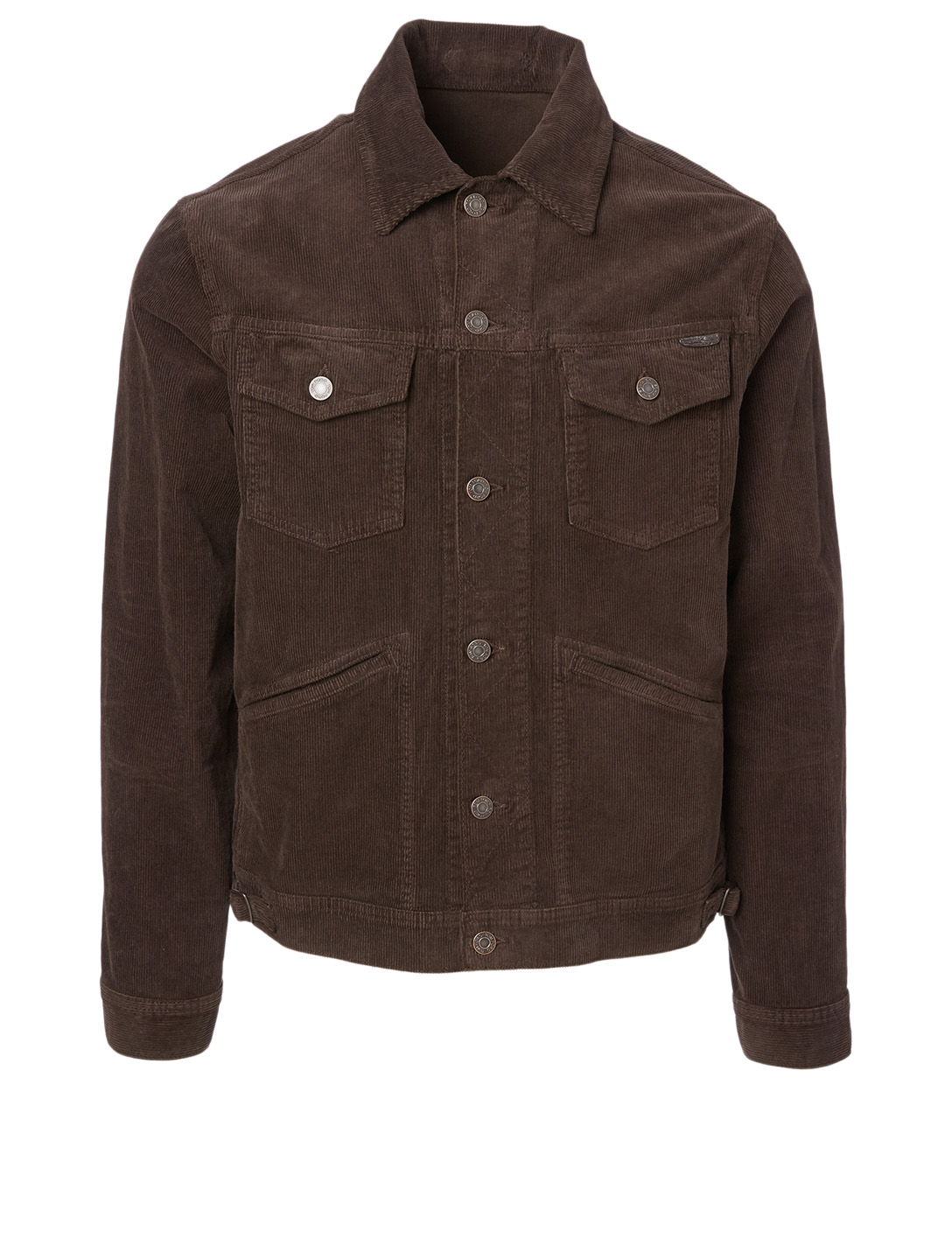 TOM FORD Icon Corduroy Jacket Men's Brown