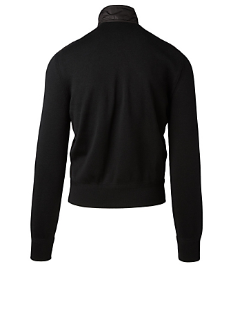 TOM FORD Merino Zip Jacket Men's Black